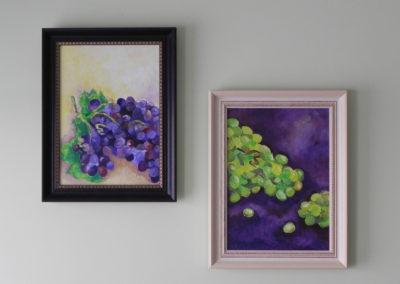 """""""Viinamarjad"""" õlivärvid, 2010"""